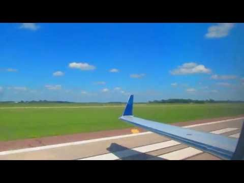 Delta Connection CRJ-200 Takeoff From Aberdeen Regional Airport   Aberdeen, SD (HD)