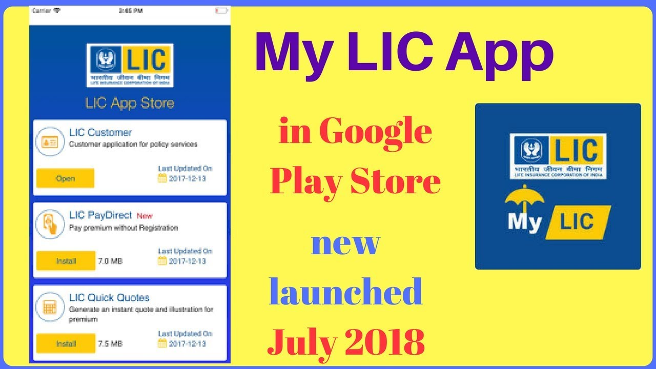 My LIC APP Download Free for Android and iOS - [Latest]