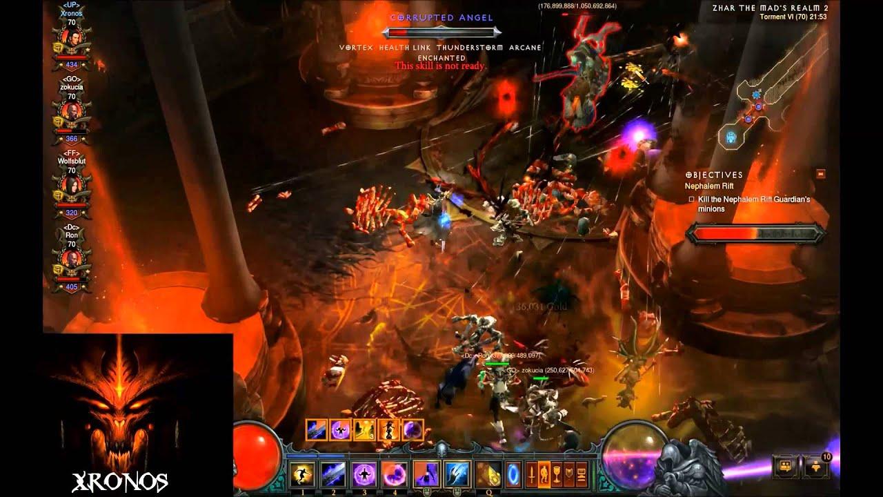 Diablo  Ray Of Frost Build
