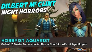 Dilbert McClint - Hobbyist Aquarist