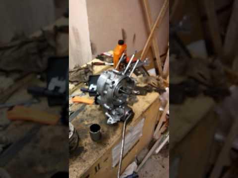 Ремонт двигателя Вятка электрон.