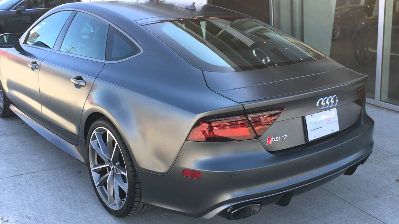 2016 Audi RS7 Performance - 605 horsepower! - Just Arrived at Audi ...
