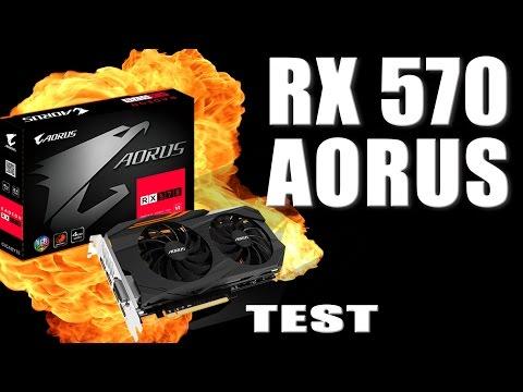 Test RX 570 w wersji Gigabyte Aorus - czy warto? jak z osiągami? co to jest funkcja Chill - VBTpc
