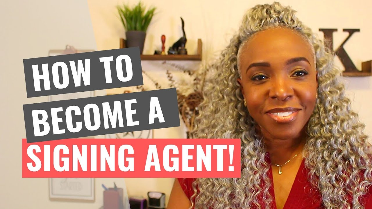 How to Become a Loan Signing Agent!!
