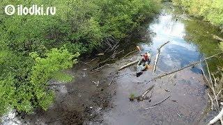 Каяк для рыбалки RST Рейнджер впечатления видео