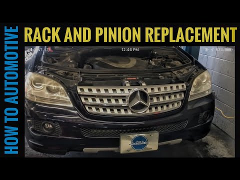 How to Replace the Rack and Pinion on a 2005-2011 Mercedes ML350 W164