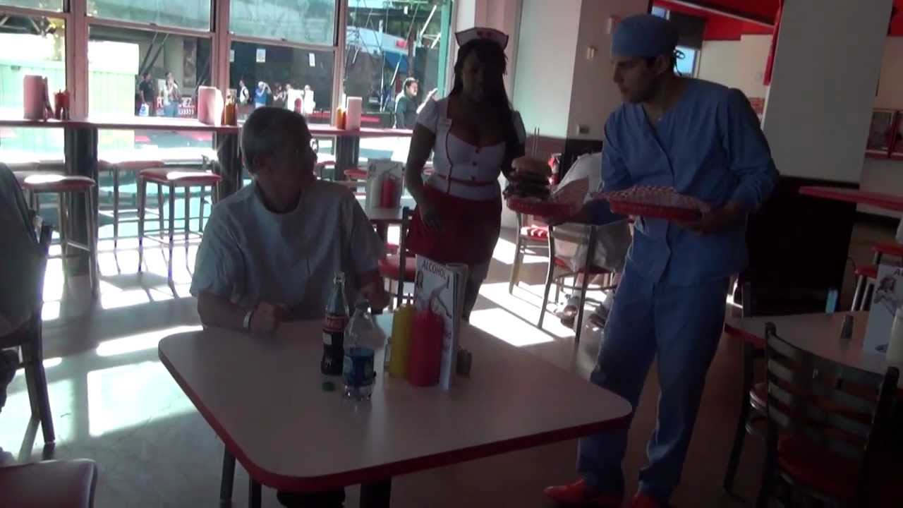 Heart Attack Grill - The Experience - YouTube