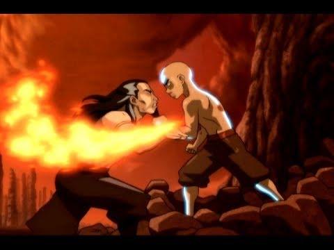 The Last Airbender (2010) - Aang vs. Zuko Scene (6/10 ...