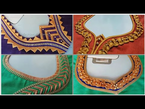 30 New Latest Neck Designs With Lace/Churidar Neck Designs/Salwar Suit Neck Designs/Gale k Designs