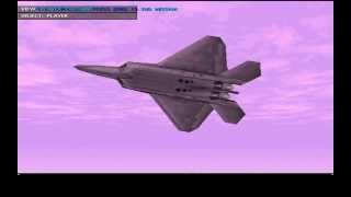 F-22 Raptor (1998) - Gameplay