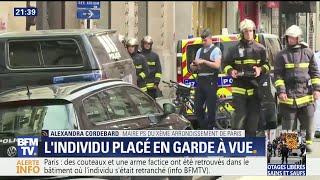 Prise d'otages à Paris: