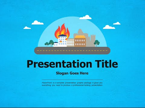 firefighter animated powerpoint template youtube