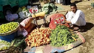 Обратная сторона Египта Поездка на рынок Хургады Апрель 2021
