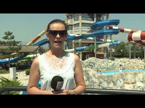 Водени лудории во Аква парк - Скопје