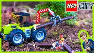 LEGO City Forest Tractors for Kids