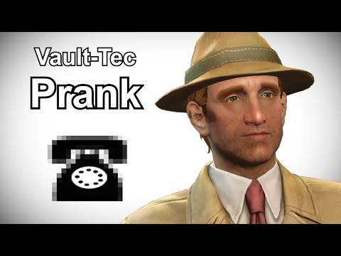 Hilarious Fallout Shelter Prank Call with Vault Salesman