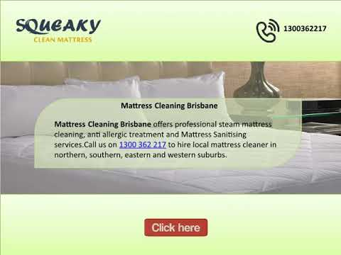 One stop solution for mattress cleaning Melbourne