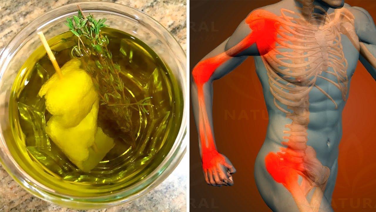 관절염 증상을 치료하고 완화시키는 레몬과 백신