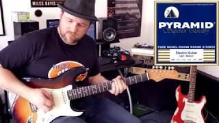 Pyramid Electric Guitar String Comparison Part 2 - Overdrive Tones