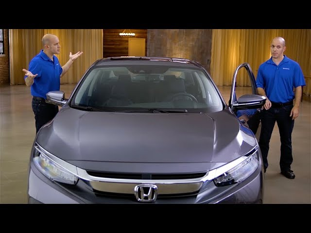 2018 Honda Civic Tips & Tricks: How to Use Programmable Door Locks with Keyless Access