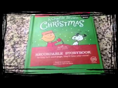 Recordable Christmas Books.A Charlie Brown Christmas Recordable Books