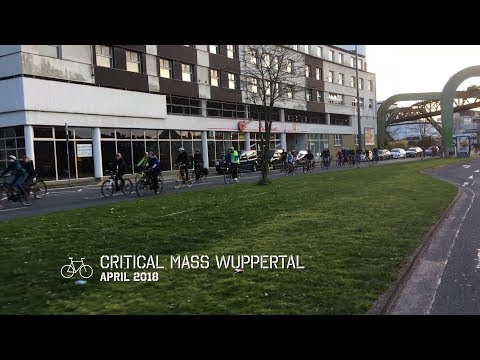 Critical Mass Wuppertal - April 2018