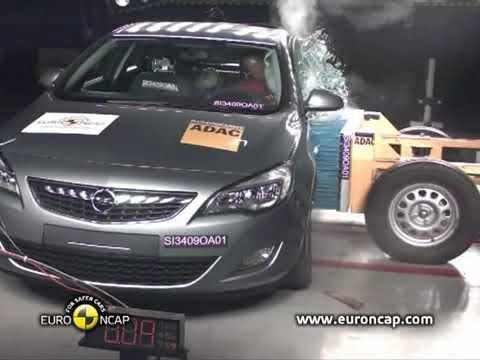 Astra J Euroncap Chrash Test 2010 (çarpışma Testi)