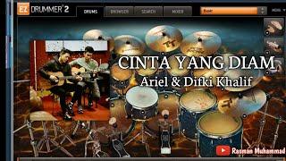 Ariel & Difki Khalif - Cinta Yang Diam (Drum Cover) Ez Drummer 2