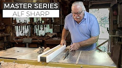 Process of a Master Woodworker: In the Shop with Alf Sharp Part 2