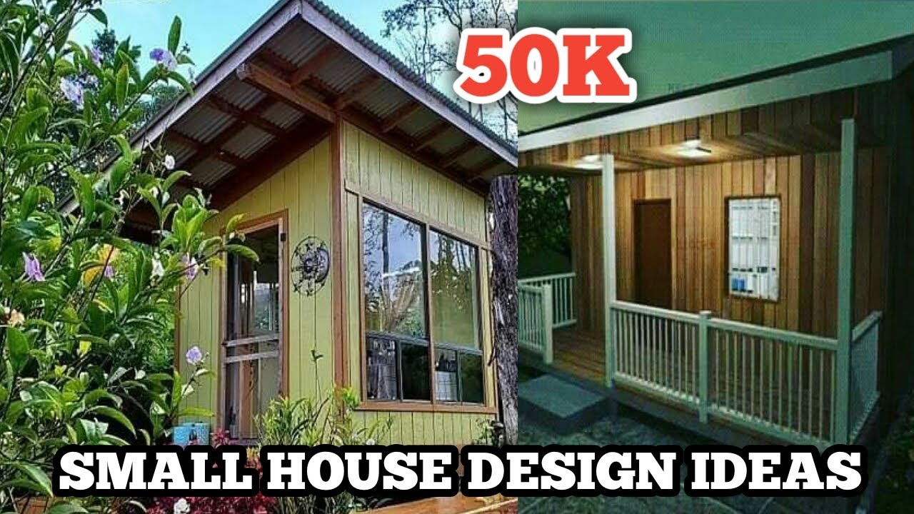 Smallhouse Youtube In 2020 Small House Design Small House House Design