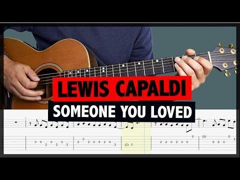 Someone You Loved Guitar Karaoke