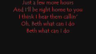 Beth Lyrics