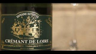 ワイン通販 Firadis WINE CLUB 30 ワインテイスティング動画 ドメーヌ・デュテルトル クレマン・ド・ロワール キュヴェ・サン・ジル(フランス ロワール産白スパークリングワイン)