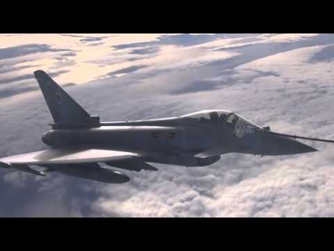 RAF Typhoons Arrive in US for Exercise Red Flag - 12.01.15