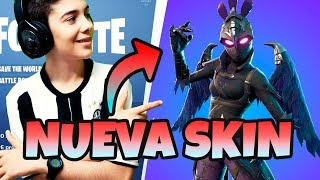 BUYING NEW SKIN LEGENDARY CARROAERA IN FORTNITE LIVE