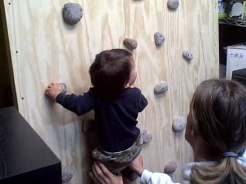 Zariyan - Rock Climbing Baby (11 months old)