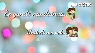 The best love status  ISM movie song lyrics with another bgm telugu love status  bgm  whatsappstatus