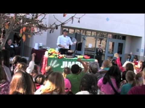 Healthy Choices Day at Sage Canyon Elementary School