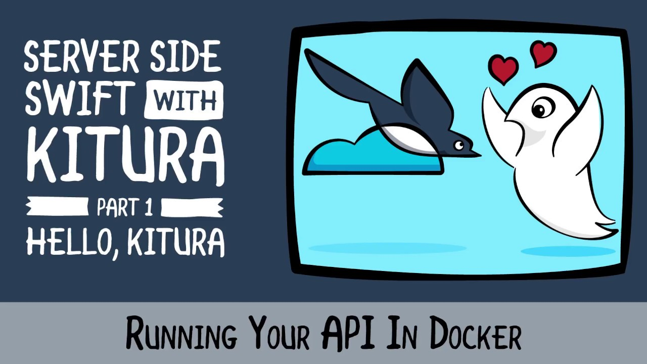 Running Your API In Docker - A Server Side Swift Framework with Swift 4 -  raywenderlich com