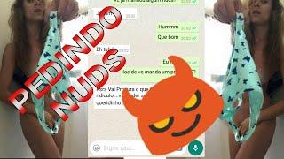 PEDINDO NUDS PRA DESCONHECIDA:DEIXA SEU LINK!!! E COMENTE!!