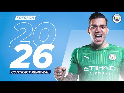 Ederson signs new contract with Man City until 2026