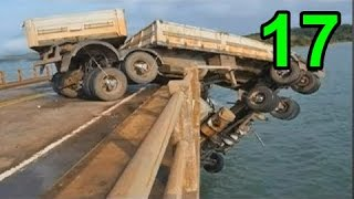 heavy equipment accidents caught on tape #17, truck fail, truck accident videos 2016