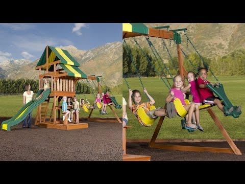 Backyard Discovery Independence All Cedar Wood Playset ...