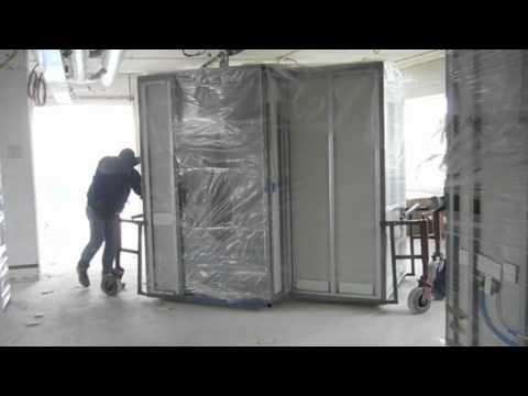 Inhuizen Prefab badkamers ACN - YouTube