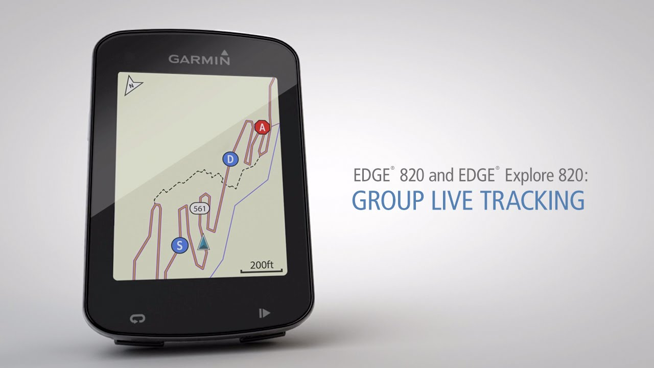 Edge 820 and Edge Explore 820: Using Group Live Tracking