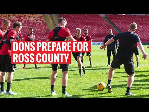 Dons prepare for Ross County match