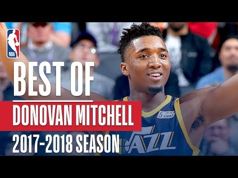 Donovan Mitchell's Best Plays of the 2017-2018 NBA Regular Season