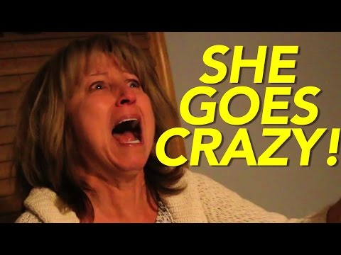 MY MOM HAS AN EMOTIONAL BREAKDOWN WHILE FILMING!