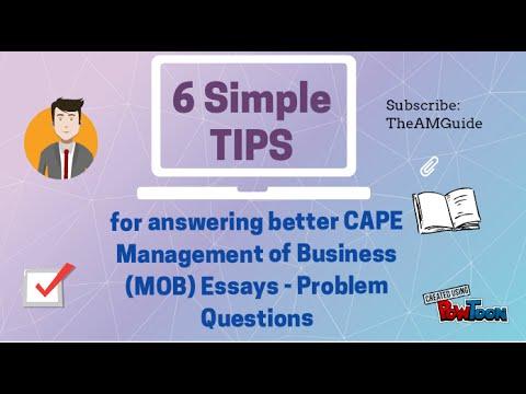 cape management of business sba