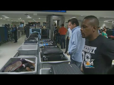TSA, American Airlines Testing New Automated Screening Lanes At MIA